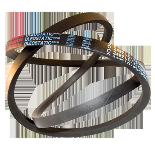 V-belts Rubber Wrapped OLEOSTATIC GOLD